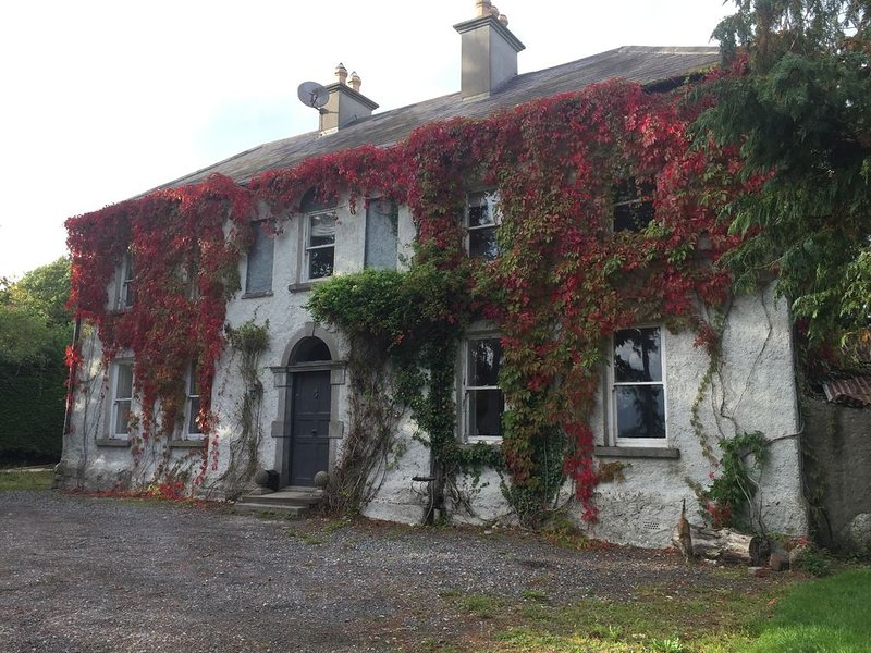 Lovely Family Suite, 2 Beautiful Interconnecting Bedrooms With Private Bathroom, vacation rental in Ballyragget