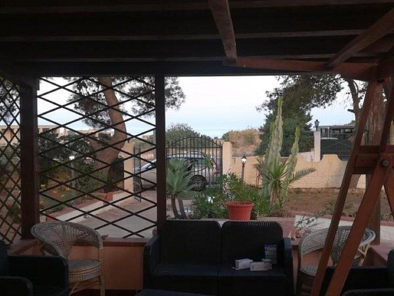 Villetta presso spiaggia della Cittadella Riserva Naturale di Vendicari., holiday rental in San Lorenzo