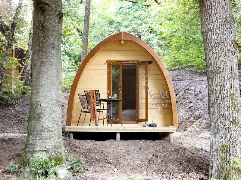 Slapen in een Pod met de luxe van een hotelkamer in Nationaal Park Veluwezoom, vakantiewoning in Doesburg