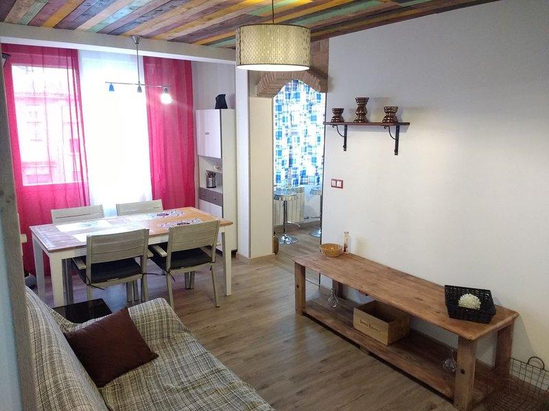 WINE-WAY ambientada en el vino, holiday rental in Alcanadre