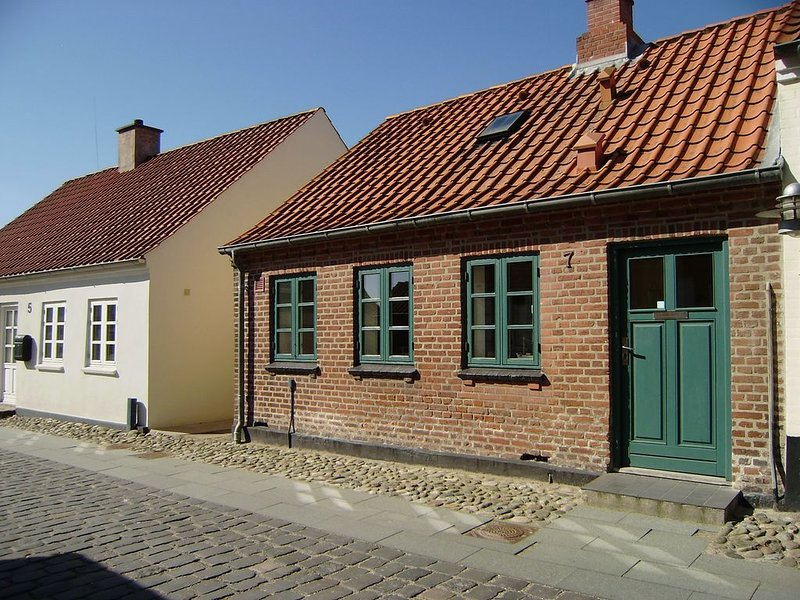 60 m2 lovely city house near the harbour. Close to Jesperhus Feriepark. Wi-fi., Ferienwohnung in Vile