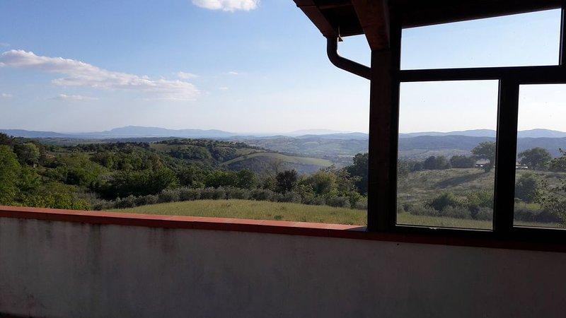 Appartamento Panoramico, alquiler vacacional en Bivio Montorgiali