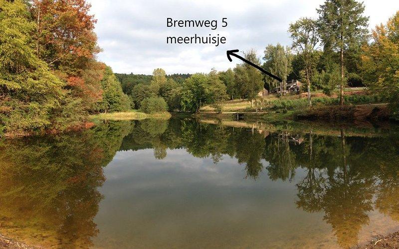 MEERHUISJE : TOPHUIS - zicht op meer - gedeeld zwembad, location de vacances à Villers-Sainte-Gertrude