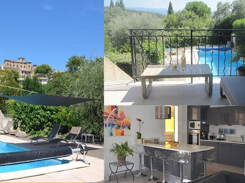 Villa au coeur d'Eguilles, vue exceptionnelle, piscine, 10 min d'Aix en Provence, holiday rental in Aix-en-Provence