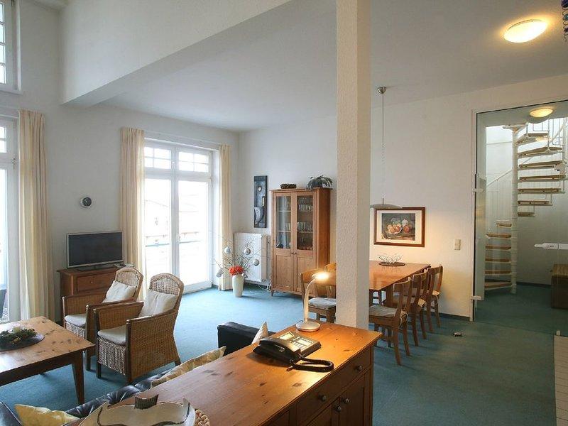 App. 230 - 100m zum Strand - Dachterrasse - Schwimmbad - WLAN - Stellplatz, holiday rental in Ostseebad Kuhlungsborn