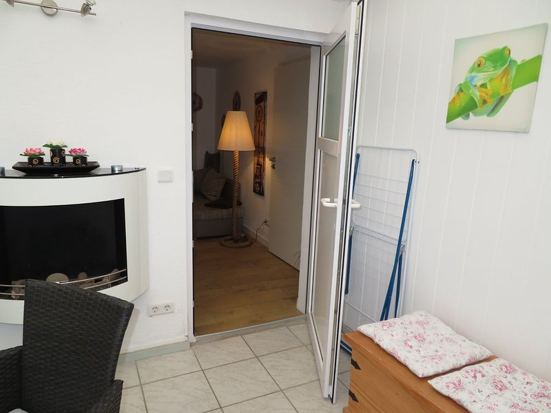Haus 'Marie' in Bergen auf Rügen, ruhige Lage mit Terrasse & Grillmöglichkeit, location de vacances à Ile de Rügen