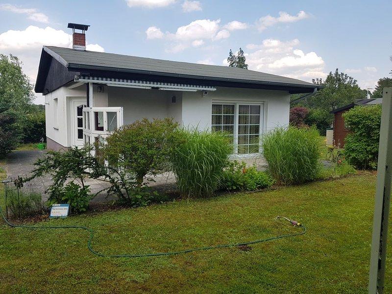 Gemütlicher Bungalow idyllisch und ruhig gelegen, location de vacances à Havelsee