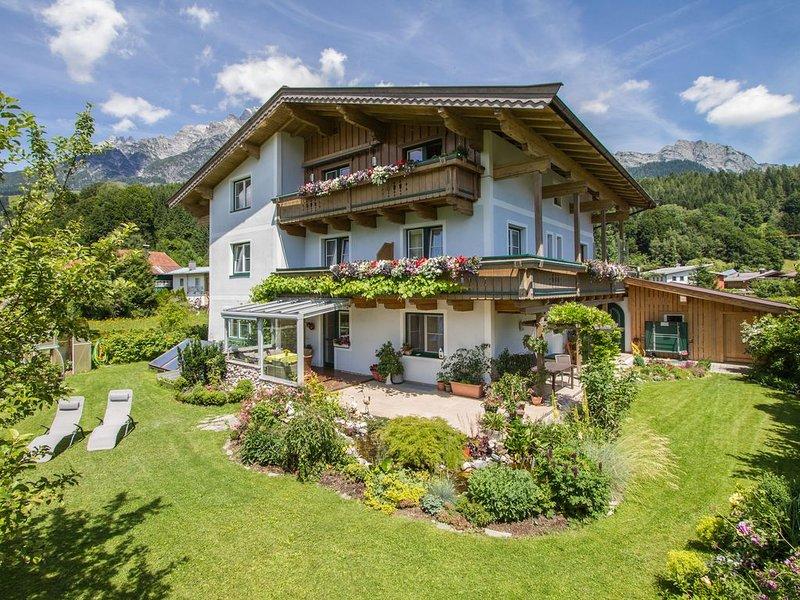 Familienfreundliche Ferienwohnung 70m² im Bikeparadies Leogang/Saalbach, holiday rental in Leogang