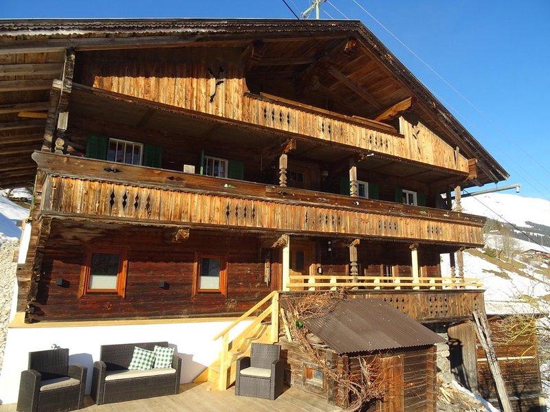 Idyllisches Bauernhaus Ferienhaus Gasteig Zillertal, holiday rental in Stummerberg