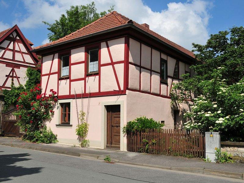 Ferienwohnung der Galerie im Saal, holiday rental in Friesenhausen