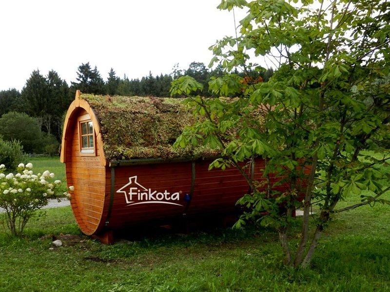 Naturnah übernachten - das Campingfass, Ferienwohnung in Himmelpfort
