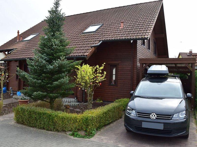 Ferienwohnung Eisenhüttenstadt, casa vacanza a Siehdichum