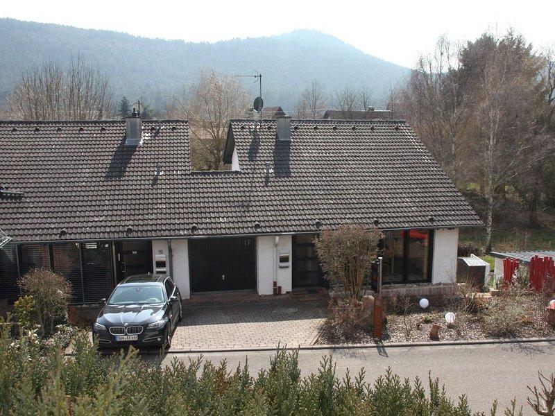 Ferienhaus Ampelmännchen, mitten im Pfälzer Wald, holiday rental in Hauenstein