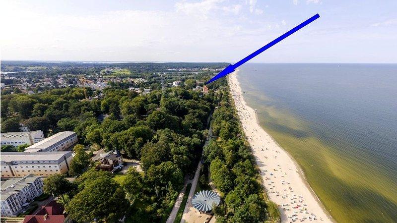 Ferienwohnung Wappen von Heringsdorf - 70 m zum Strand, Ferienwohnung in Seebad Heringsdorf