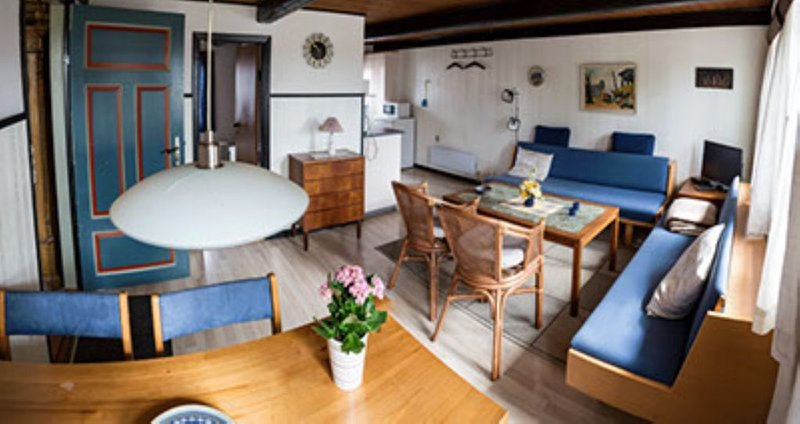 Wohnungen am Campingplatz, location de vacances à Horuphav