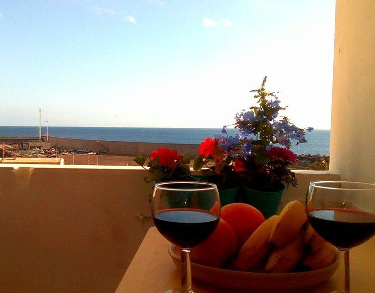Schöne Ferienwohnung am Hafen von Valle Gran Rey, location de vacances à Valle Gran Rey
