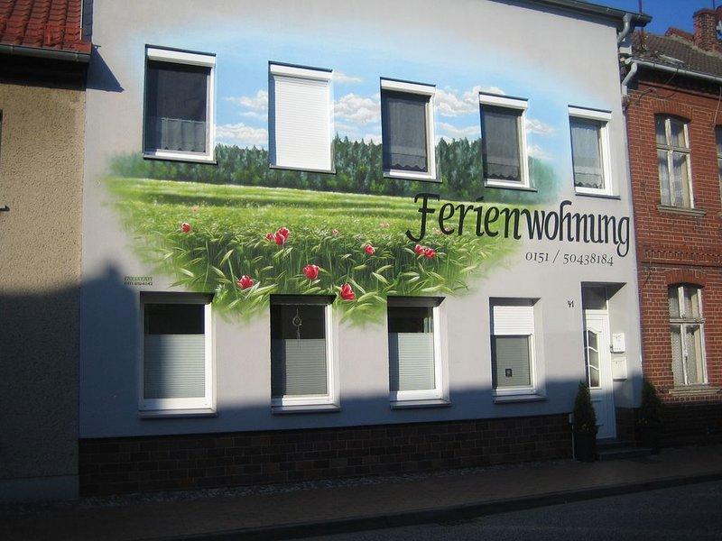 Ferienwohnung 'Marita'im Norwesten der Altmark heißt Sie herzlich Willkommen!, location de vacances à Waddeweitz
