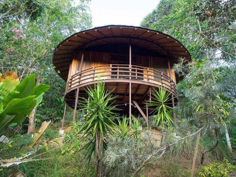 Junglebungalow - Dominical - Platanillo, Ferienwohnung in San Jose (Provinz)
