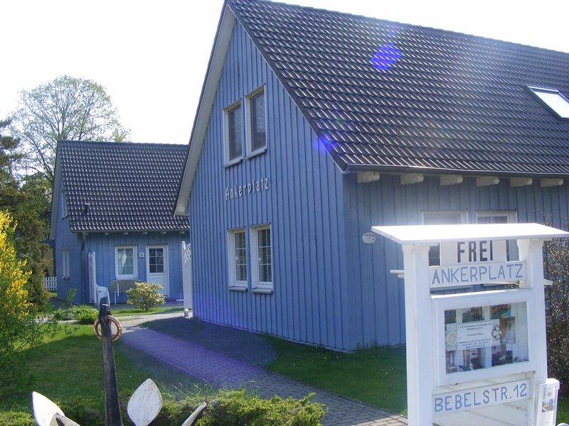Familienfreundliche Reihenhauswohnung mit Kamin,WLAN, Sauna, Haustiere gestattet, location de vacances à Ostseebad Prerow