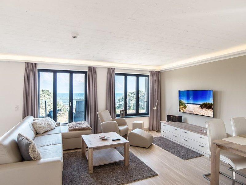 Appartement mit direktem Strandblick, 75m² im Obergeschoss, Sauna,Pool,Fitness, location de vacances à Ile de Rügen