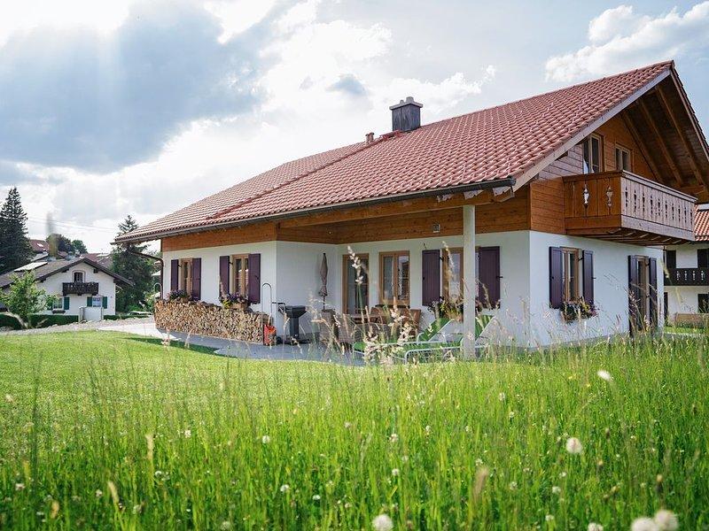 Bio-Ferienhaus moor & mehr - barrierefrei -, alquiler vacacional en Oberammergau