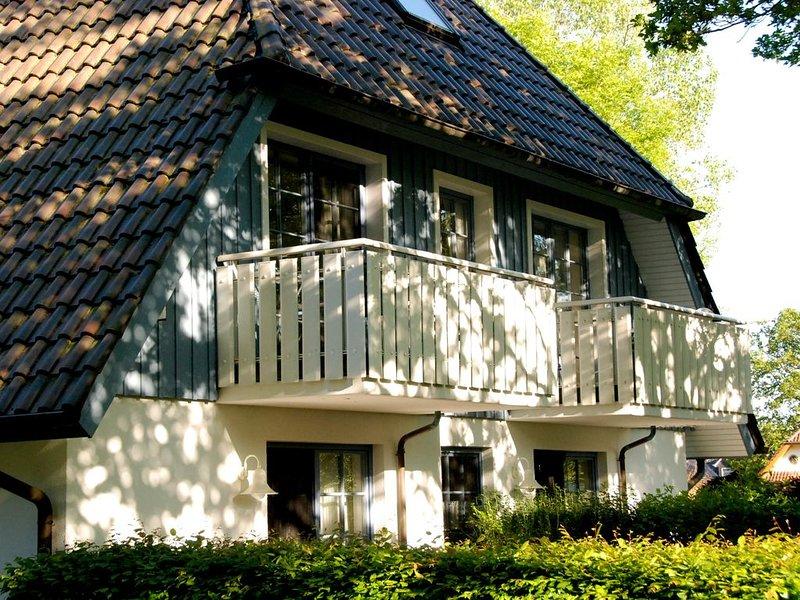 komfortable haustiergeeignete Wohnung im Eichenpark, max. 3 Pers., WLAN, location de vacances à Ostseebad Prerow