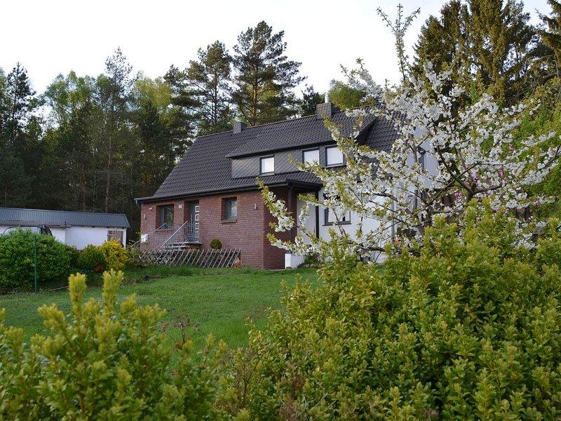 Ferienwohnung am Auerwald - Entspannung in Alleinlage, casa vacanza a Steinhorst
