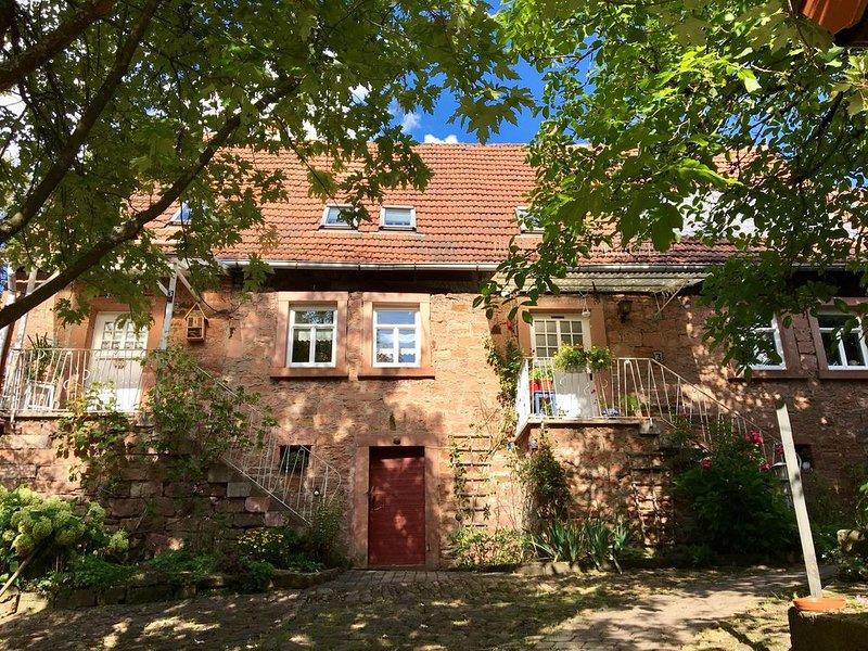 Gemütliche Ferienwohnung im Main-Spessart, holiday rental in Obernburg