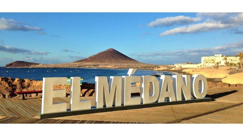 Apartamento en la playa, 2 habs, terraza 30 m². Playa a 30 segundos. Wifi gratis, casa vacanza a El Medano