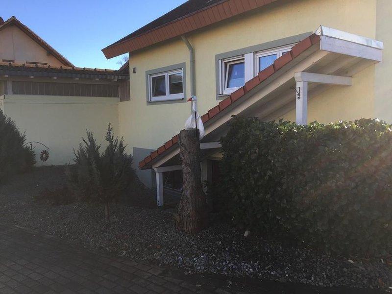Gastfreundschaft in Bahlingen am Kaiserstuhl, Fewo Gonzo, casa vacanza a Boetzingen