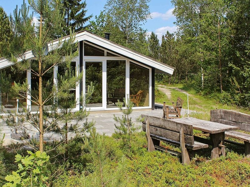 Cozy Holiday Home in Herning with Barbecue, location de vacances à Bording