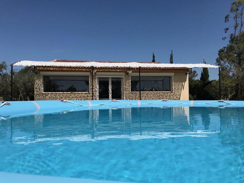 Arles, Mazet 3c au coeur des oliviers, piscine, 15 Min Camargue, 5 min Alpilles, holiday rental in Raphele-les-Arles