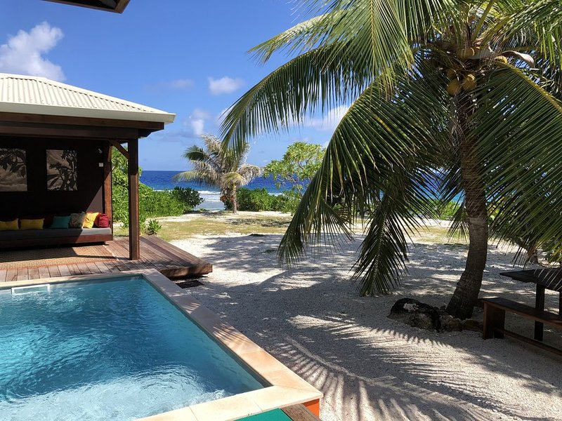SUNRISEBEACHVILLA***** Luxury Beach House / Private Pool & Beach, holiday rental in Vaiare