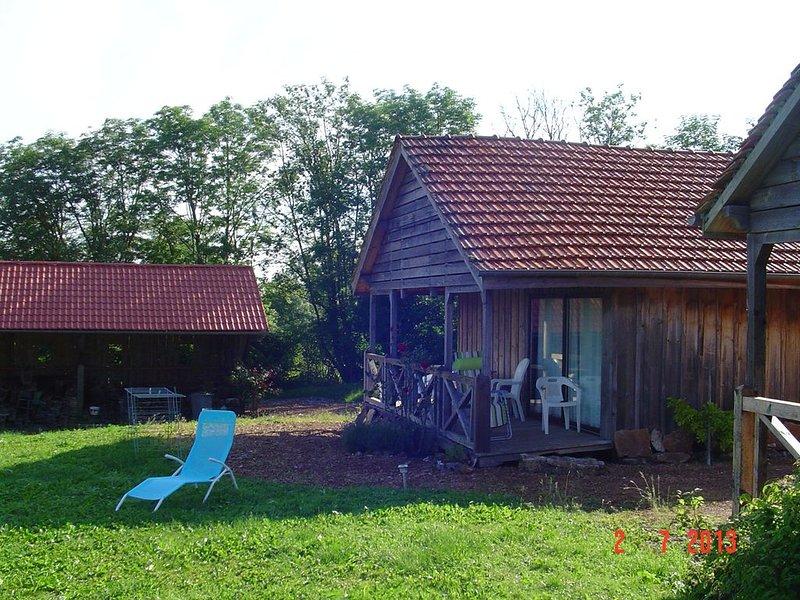Chalet en plein cœur de la campagne bourguignonne, location de vacances à La Bussière-sur-Ouche