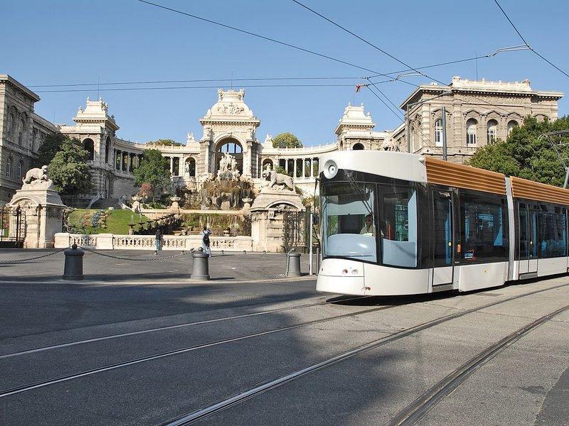 Le tram à Marseille