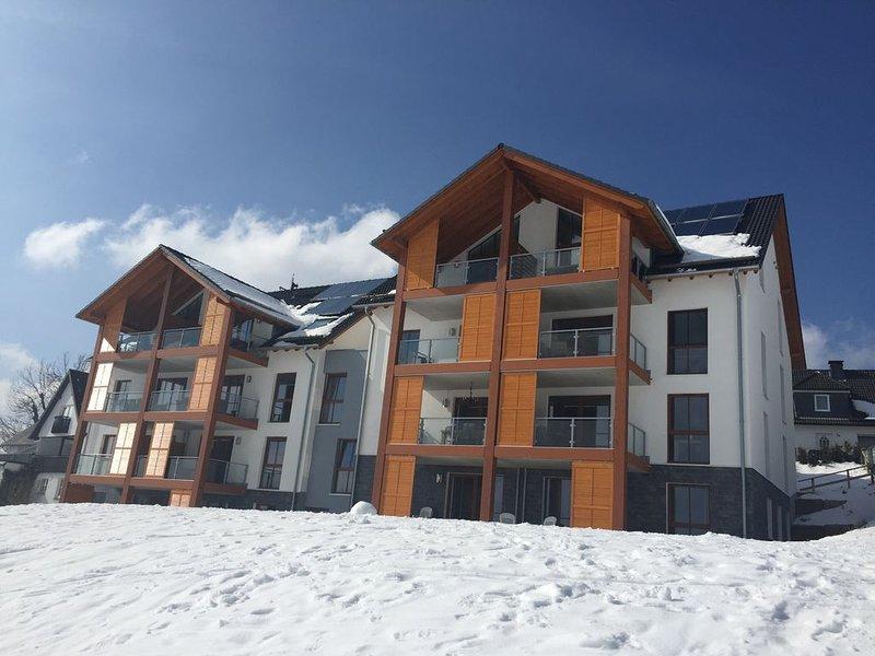 Sfeervol appartement direct aan de piste Neuastenberg-Winterberg  4-6 pers, holiday rental in Zuschen