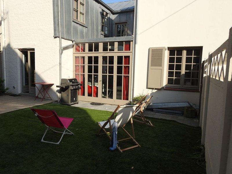 Grande maison  plein centre, à 300m de la plage, location de vacances à Le Touquet – Paris-Plage