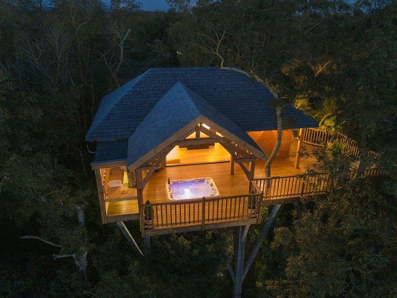 Cabane de Prestige avec Sauna et Jacuzzi, alquiler vacacional en Carlipa