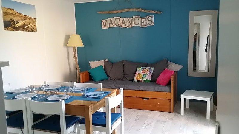 maisonnette 37 m2 entre océan, lac marin et foret landaise, location de vacances à Landes