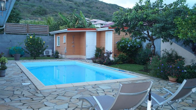 'Pied à terre pour visiter le nord caraïbe', holiday rental in Le Carbet