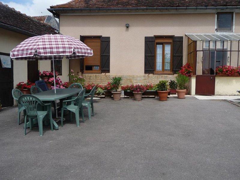 Gîte Le Balcon du Parc, vacation rental in Villechetif