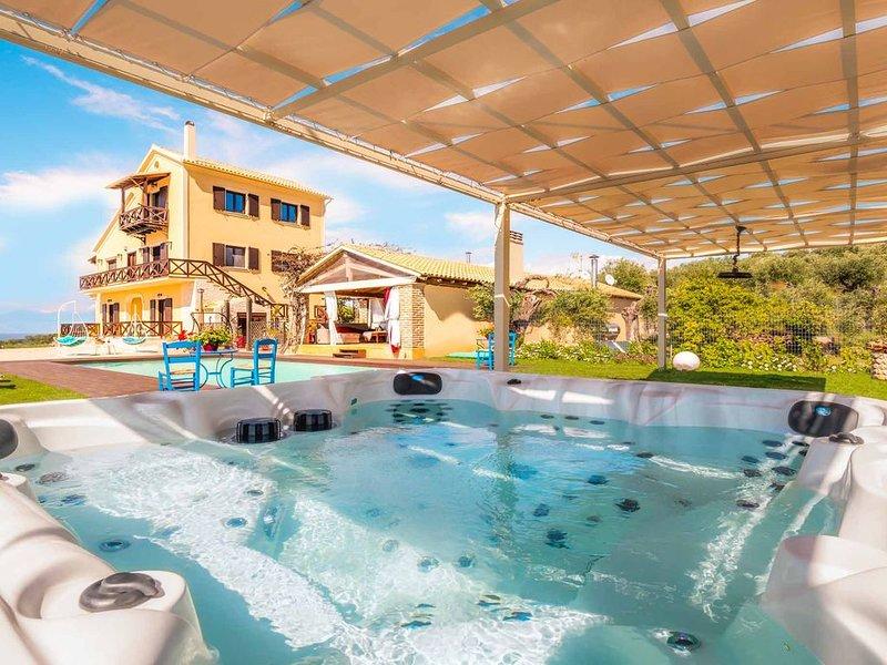 Villa Irida Agios Spyridonas Peritheia, location de vacances à Peroulion