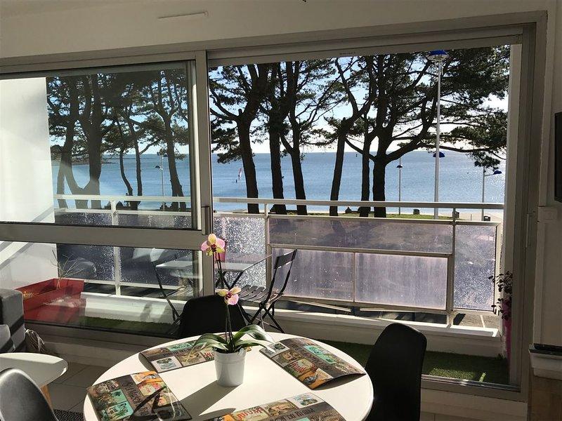 Appartement vue mer, plage, Wifi, holiday rental in Benodet