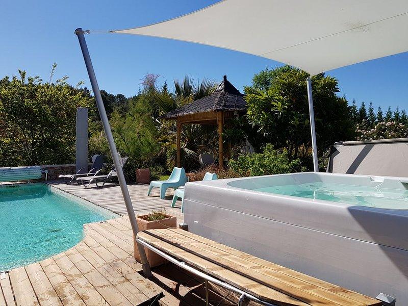Villa 'lou simbèu', location de vacances à Caveirac