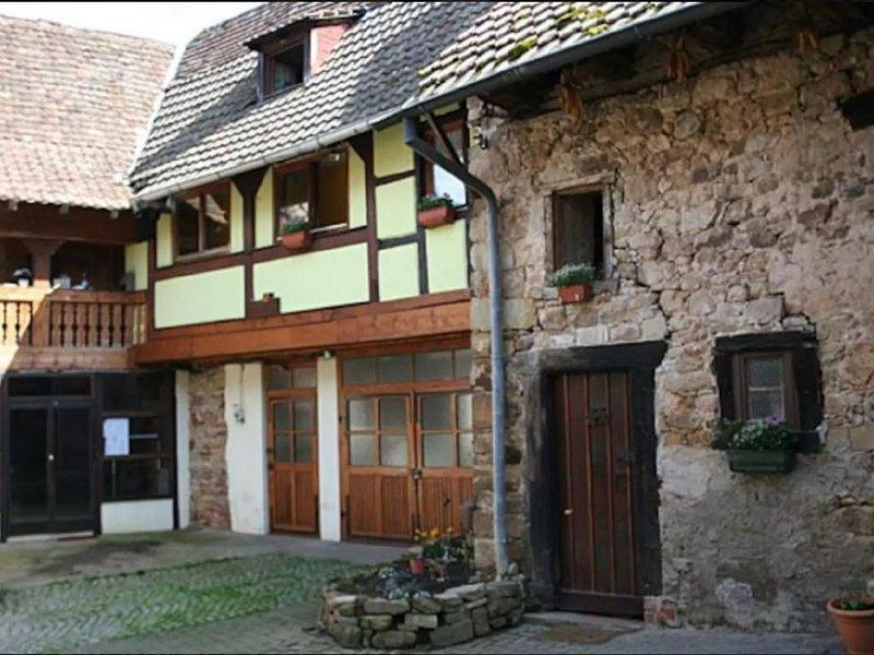 Gîte de charme 13 personnes à Orschwihr, Alsace, casa vacanza a Guebwiller