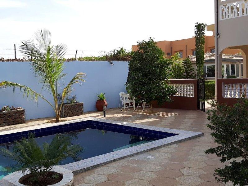 Magnifique villa à Mbour avec piscine, vacation rental in La Petite Cote