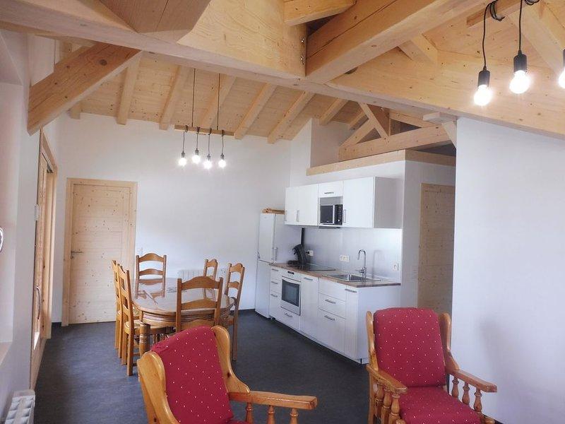 Appartement de charme  dans Chalet au centre village, 3 chambres (5/6pers), location de vacances à Les Contamines-Montjoie