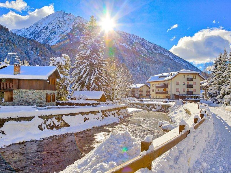 Twins Champoluc - a pochi minuti a piedi dallo skilift, per 5 persone, nel centr, aluguéis de temporada em Valle d'Aosta