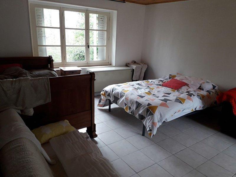 Maison de campagne dans bourg avec tous commerce, location de vacances à Écueillé