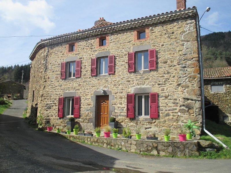Gîte Clément de 4 à 12 personnes, location de vacances à Saint-Beauzire